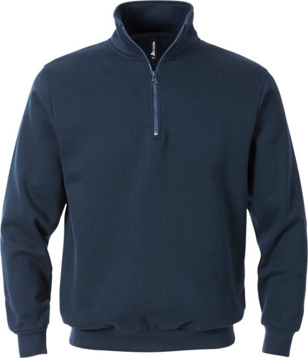 Fristads - Acode Zipper-Sweatshirt 1737 SWB Saphirblau XS