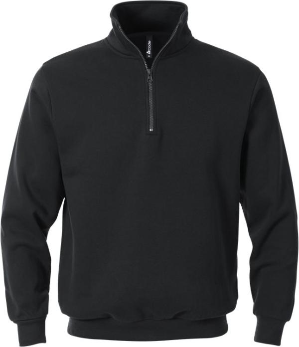 Fristads - Acode Zipper-Sweatshirt 1737 SWB Schwarz XS