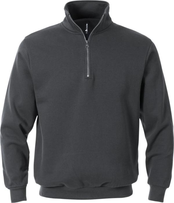 Fristads - Acode Zipper-Sweatshirt 1737 SWB Dunkelgrau XS