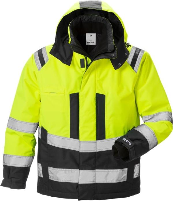Fristads - High Vis Airtech® Winterjacke Kl. 3 4035 GTT Warnschutz-Gelb/Schwarz XS