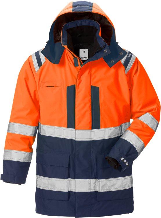 Fristads - High Vis Airtech® 3in1 Parka Kl. 3 4036 GTT Warnschutz-Orange/Marine XS