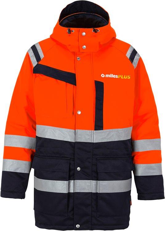 Fristads - High Vis Winterparka Kl. 3 4042 PP Warnschutz-Orange/Marine XS