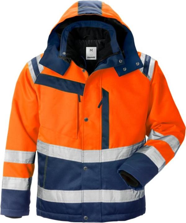 Fristads - High Vis Winterjacke Kl. 3 4043 PP Warnschutz-Orange/Marine XS