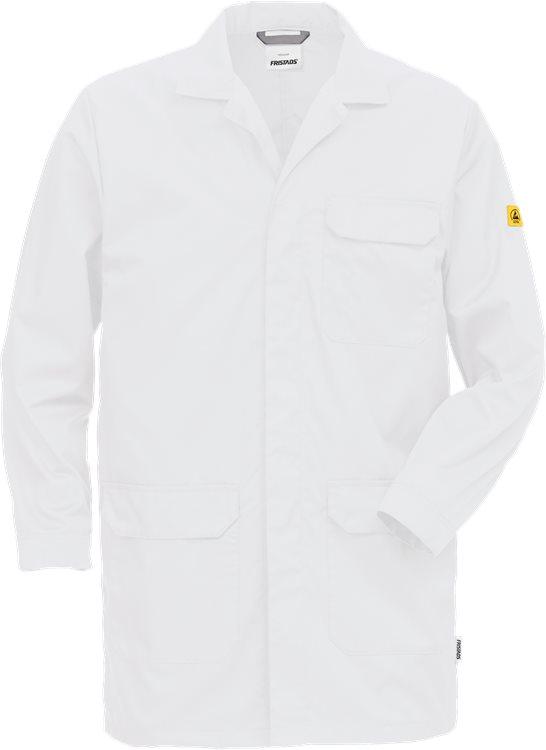 Fristads - ESD Mantel 3080 ELP Weiß XS