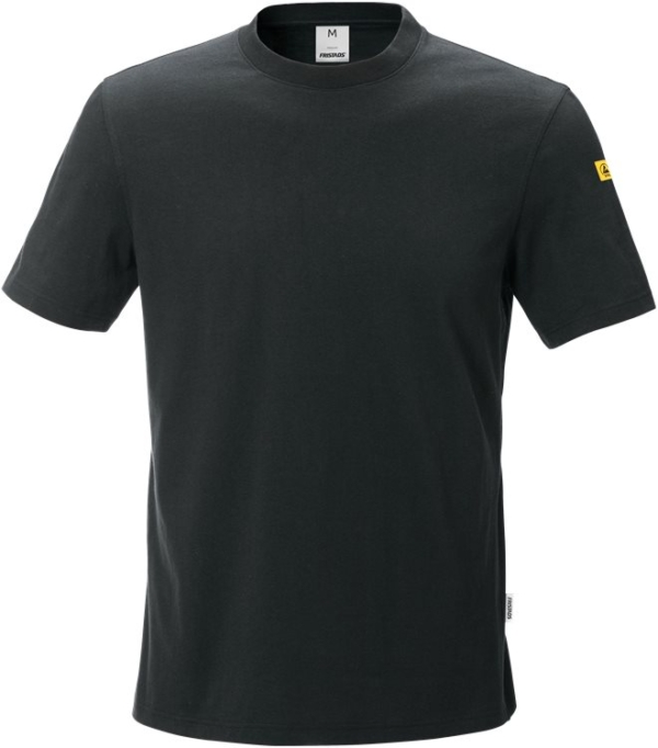 Fristads - ESD T-Shirt 7081 XTM Schwarz XS