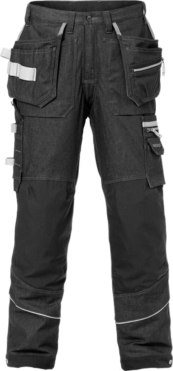Fristads - Handwerker Stretch-Jeans 2131 DCS Schwarz C44