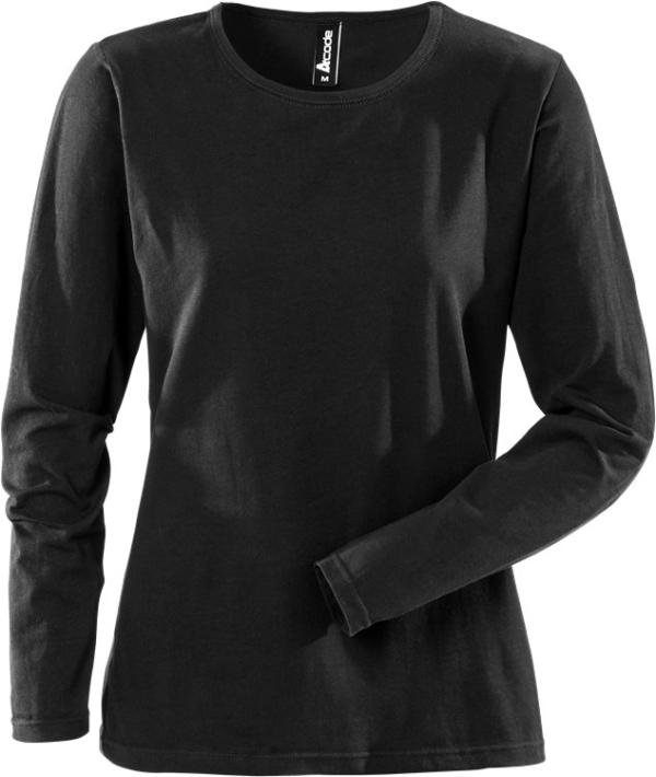 Fristads - Acode T-Shirt Langarm Damen 1927 ELA Schwarz XS