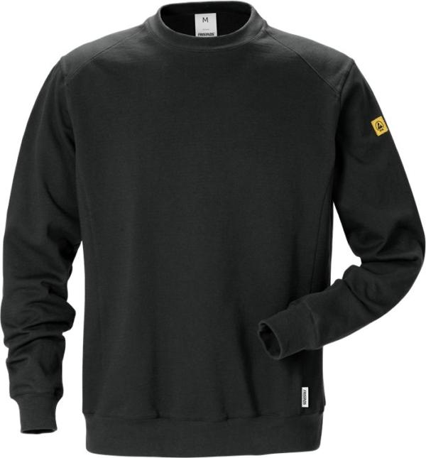 Fristads - ESD Sweatshirt 7083 XSM Schwarz XS