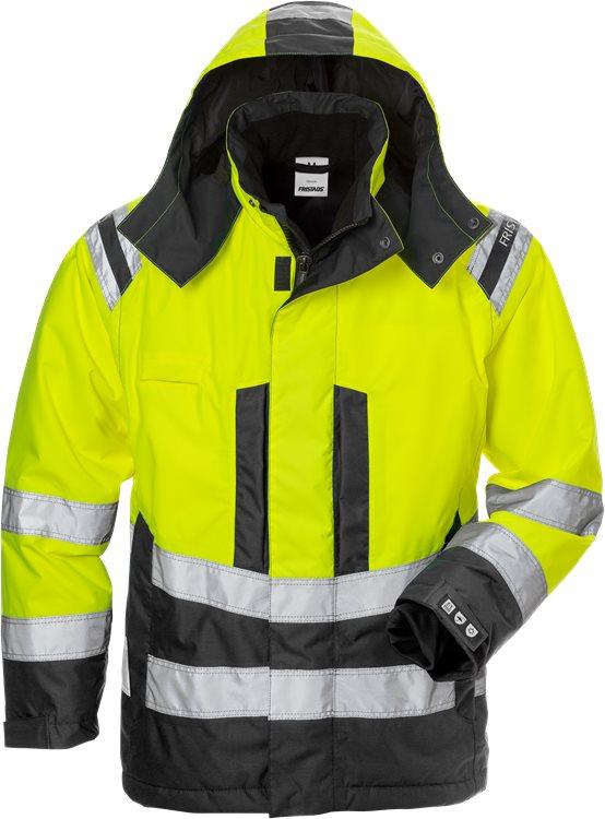 Fristads - High Vis Airtech® Winterjacke Damen Kl. 3 4037 GTT Warnschutz-Gelb/Schwarz XS