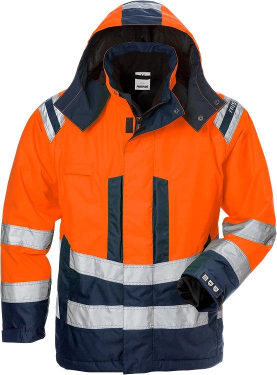 Fristads - High Vis Airtech® Winterjacke Damen Kl. 3 4037 GTT Warnschutz-Orange/Marine XS