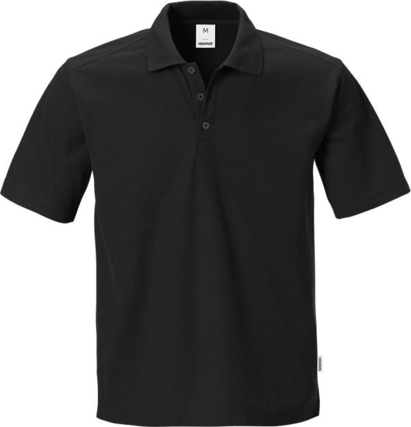 Fristads - Poloshirt 7392 PM Schwarz XS