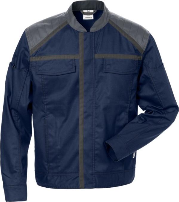 Fristads - Jacke 4555 STFP Marine/Grau XS