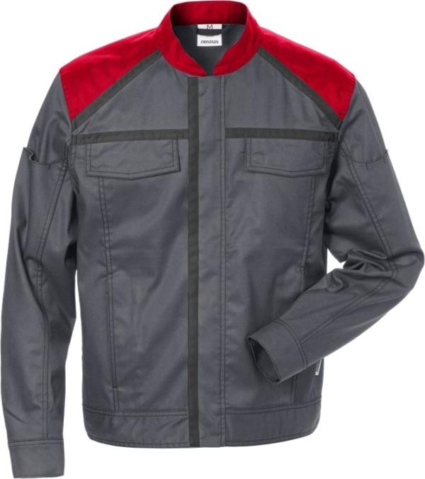 Fristads - Jacke 4555 STFP Grau/Rot XS