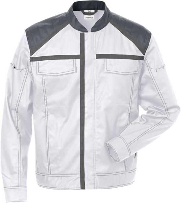 Fristads - Jacke 4555 STFP Weiß/Grau XS