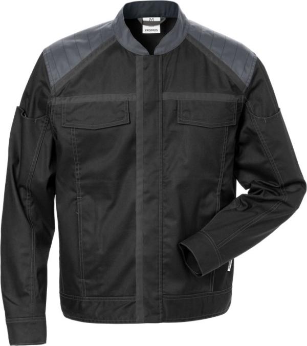 Fristads - Jacke 4555 STFP Schwarz/Grau XS