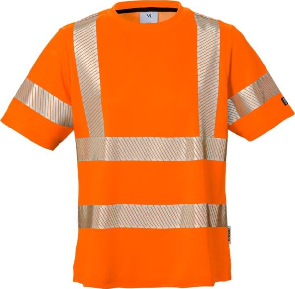 Fristads - High Vis Damen-T-Shirt, Kl. 2 7458 THV Warnschutz-Orange XS