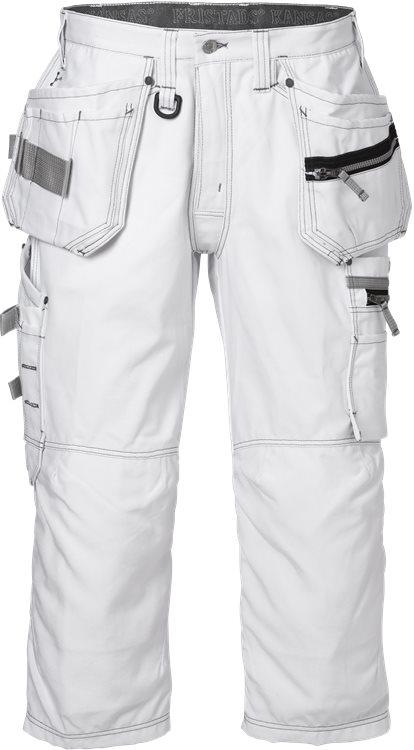 Fristads - 3/4 Handwerkerhose 2124 CYD Weiß D120