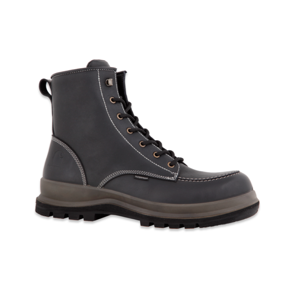 Carhartt - HAMILTON S3 WATERPROOF WEDGE BOOT BLACK 48