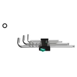 WERA 950/9 Hex-Plus 1 WINKELSCHLÜSSELSATZ metrisch