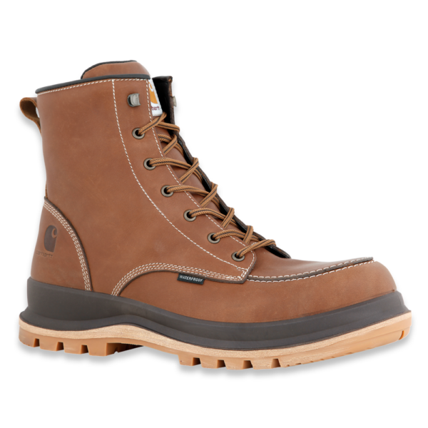 Carhartt - HAMILTON S3 WATERPROOF WEDGE BOOT TAN 39