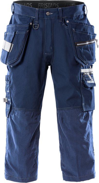 Fristads - 3/4 Handwerkerhose 2124 CYD Dunkelblau C44