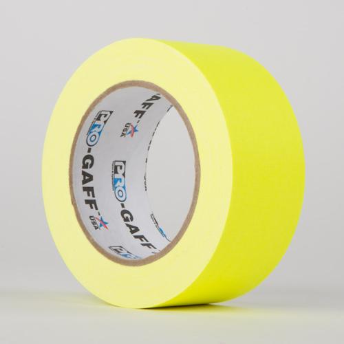 Fluoreszierendes Gaffa Tape Leuchtendes Gelb
