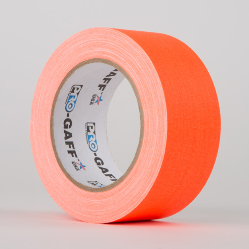 Fluoreszierendes Gaffa Tape ORANGE