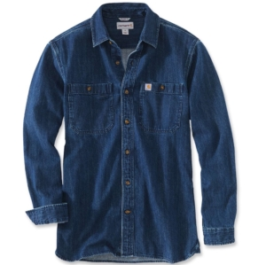 Carhartt - Denim Long Sleeve Shirt