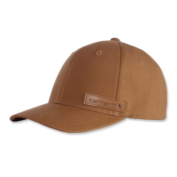 Carhartt - CARHARTT PATCH FLEX FIT CAP L/XL CARHARTT® BROWN