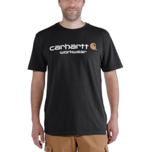 Carhartt - CORE LOGO T-SHIRT S/S XL BLACK