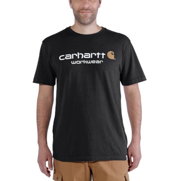 Carhartt - CORE LOGO T-SHIRT S/S XL BLACK