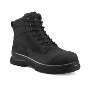 "Carhartt - DETROIT 6"" S3 ZIP BOOT 48 BLACK"