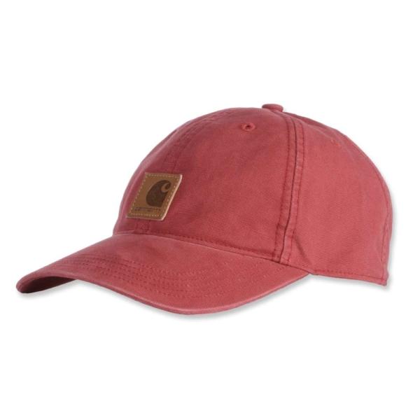 Carhartt - ODESSA CAP OFA DARK BARN RED