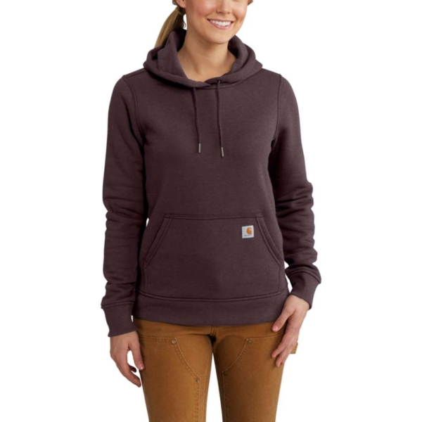 Carhartt - W CLARKSBURG PULLOVER SWEAT XS FUDGE HEATHER