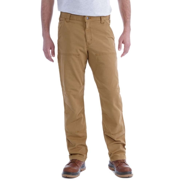 Carhartt - RUGGED FLEX RIGBY DOUBLE FRONT W33/L30 HICKORY
