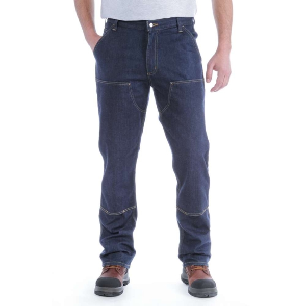 Carhartt - DOUBLE FRONT DUNGAREE JEANS W30/L30 ERIE