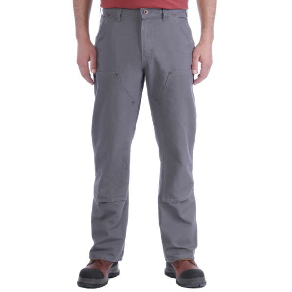 Carhartt - DOUBLE FRONT WORK PANT W30/L32 GRAVEL