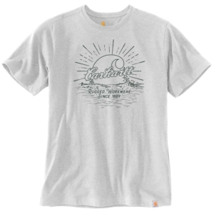 SOUTHERN WATER S/S GRAPHIC T-SHIRT, S, HEATHER GREY HEATHER GREY XXL