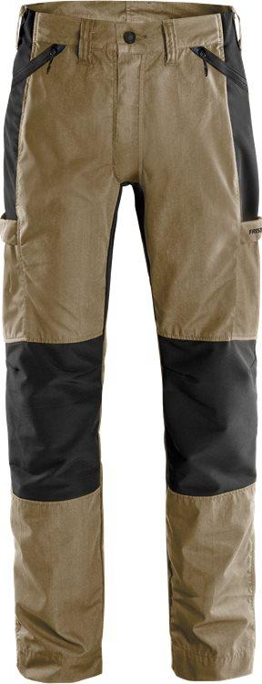 Allrounder Stretch-Hose 2540 LWR, C42, Khaki/Schwarz KHAKI D120