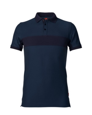 Evolve Poloshirt, XS, Blau/Dunkel Blau Dunkelblau 4XL